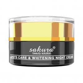 Kem dưỡng trắng, giảm nám ban đêm Sakura Spot Care & Whitening Night Cream 30g
