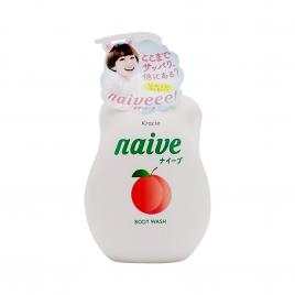 Sữa tắm chiết xuất lá đào Kracie Naive 530ml
