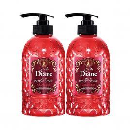Combo hai chai sữa tắm tinh dầu nho trắng Moist Diane Oil In Body Soap Chardonnay 500ml