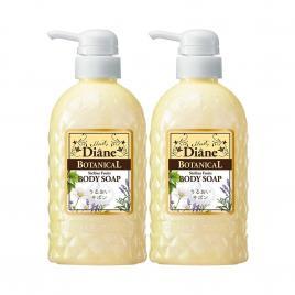 Combo hai chai sữa tắm hương trái cây Moist Diane Botanical Sicilian Fruits 500ml