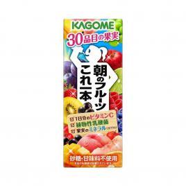 Nước ép trái cây nguyên chất Kagome 200ml