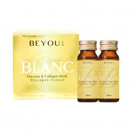 Nước uống Collagen & Placenta Waki Pharmaceutical Beyou Blanc 6.000mg (Hộp 6 chai x 30ml)