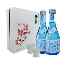 Hộp quà tết Sum Vầy Hạnh Phúc - Nishi no Seki Hiya 300ml