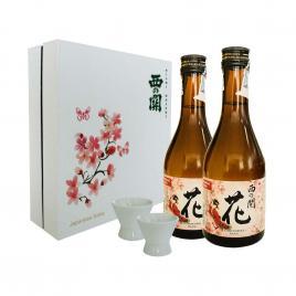 Hộp quà Tết Sum Vầy Hạnh Phúc - Nishi no Seki Hana 300ml