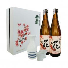 Hộp quà tết Sum Vầy Hạnh Phúc - Nishi no Seki Hana 720ml