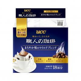 Cà phê đen hoà tan UCC Nhật Bản (Hộp 18 gói x 7g)
