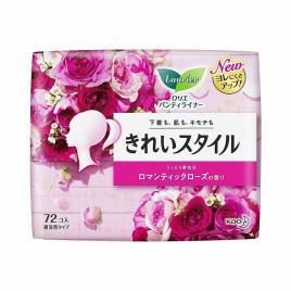 Băng vệ sinh hằng ngày Laurier hương hoa hồng 72 miếng