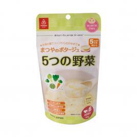 Cháo ăn dặm 5 loại rau Matsuya 60g (Cho trẻ từ 6 tháng)