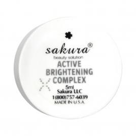Enzyme trị nám, thâm mụn và dưỡng trắng da Sakura Active Brightening Complex 5ml