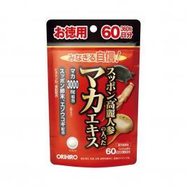 Viên uống hỗ trợ tăng cường sinh lý nam Orihiro Maca 3.000mg 360 viên