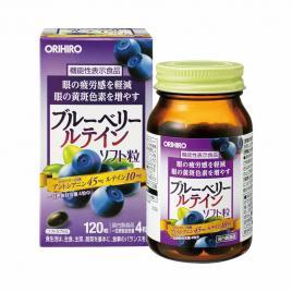 Viên uống bổ mắt Orihiro BlueBerry 120 viên