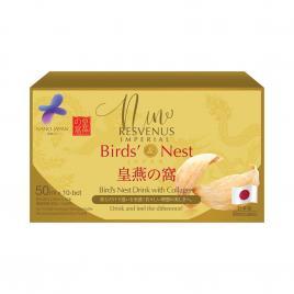 Nước yến trẻ hóa làn da Nano Japan Birds Nest Premium Concentrate (Hộp 10 chai x 50ml)