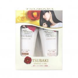 Bộ đầu gội và dầu xả phục hồi hư tổn Shiseido Tsubaki Damage Care 500ml