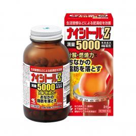 Viên uống giảm mỡ bụng Kobayashi Naishitoru Z 5000mg 315 viên