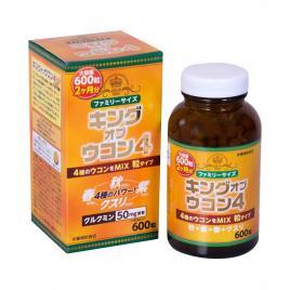 Viên uống nghệ Wellness Japan King Of Ukon 4 600 viên