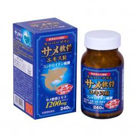Viên uống bổ xương khớp Wellness Japan Super Marine 240 viên