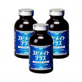 Combo 3 hộp Tảo xoắn Spirulina Spimate Plus Japan Algae 600 viên