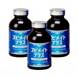Combo 3 hộp Tảo xoắn Spirulina Spimate Plus Japan Algae 1200 viên