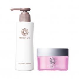 Bộ đôi chăm sóc da mặt Gel dưỡng hoa hồng và sữa rửa mặt Perfect One