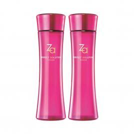 Combo 2 chai nước cân bằng da căng mịn và săn chắc Za Perfect Solution