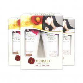 Combo 3 bộ dầu gội và dầu xả phục hồi hư tổn Shiseido Tsubaki Damage Care 500ml