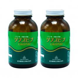 Combo 2 hộp tảo biển Linaspina Nhật Bản 1200 viên