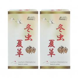 Combo 2 hộp đông trùng hạ thảo Forever Wellnes Japan Premium 330 viên