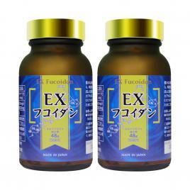 Combo 2 hộp viên uống hỗ trợ điều trị ung thư Kanehide Bio Fucoidan EX 323mg 150 viên