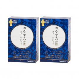 Combo 2 hộp thạch Collagen Oyasumi Shukan Nhật Bản 30 thanh