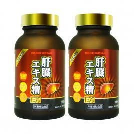 Combo 2 hộp viên uống hỗ trợ giải độc gan Nichiei Bussan Liver Extract Sperm EX 330 viên