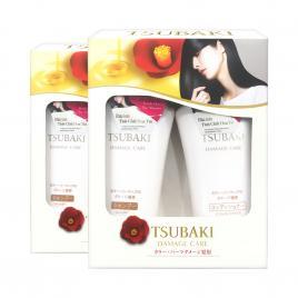 Combo 2 bộ dầu gội và dầu xả phục hồi hư tổn Shiseido Tsubaki Damage Care 500ml