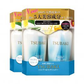 Combo 2 bộ dầu gội và dầu xả suôn mượt Shiseido Tsubaki Smooth 450ml