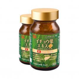 Combo 2 hộp Viên uống bổ não Ribeto Shoji Ichoha Ekisu Plus 90 viên