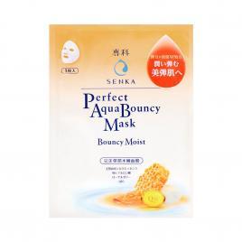 Mặt nạ dưỡng da đàn hồi và cấp ẩm Senka Aqua Bouncy Moist Mask (1 miếng x 25ml)