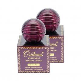 Combo 2 hộp kem ngừa thâm nám Oshirma Whitening Revital Cream SPF 20/PA++ 30g