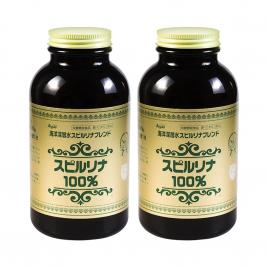 Combo 2 hộp tảo xoắn Spirulina Nhật Bản 2200 viên