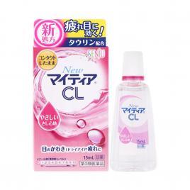 Nước nhỏ mắt đeo kính áp tròng Senju New Mytear CL-a 15ml (Màu hồng)