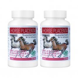 Combo 2 hộp viên uống nhau thai trị nám, trắng da Naikatsu Horse Placenta Supplement 90 viên