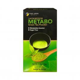 Trà hỗ trợ giảm cân Fine Japan Metabo Green Tea (Hộp 30 gói)