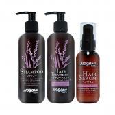 Bộ 3 dưỡng tóc mềm mượt, bóng khỏe chiết xuất hoa đậu biếc Nagano