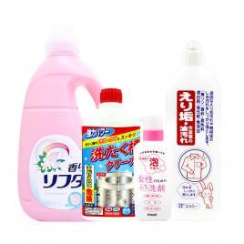 Bộ 4 giặt xả quần áo Nhật Bản