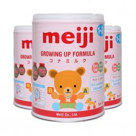 Combo 3 hộp sữa Meiji EZcube Growing Up Formula Nhật Bản 800g (Cho bé 12-36 tháng)