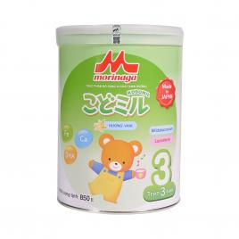 Sữa Morinaga Kodomil số 3 Nhật Bản 850g (Cho bé 36 tháng trở lên)