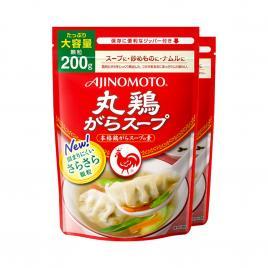 Combo 2 gói bột nêm hạt nhỏ chiết xuất từ thịt gà Ajinomoto 200g