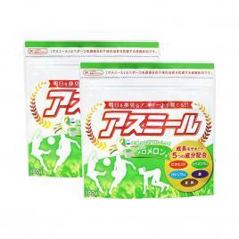 Combo 2 gói sữa tăng chiều cao cho trẻ Asumiru Ichiban Boshi 180g (Vị dưa vàng)
