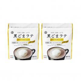 Combo 2 gói bột mè đen đậu nành pha Latte Kuki Sangyo 100g (Không đường)