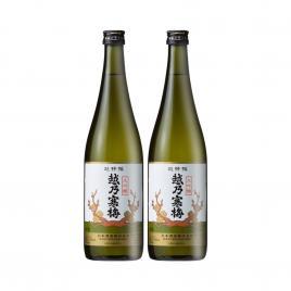 Combo 2 hộp rượu Sake Koshi No Kanbai Chotokusen 720ml