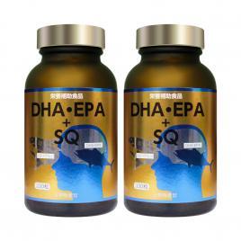 Combo 2 hộp viên uống dầu cá bổ sung DHA & EPA SQ Nichiei Bussan 330 viên