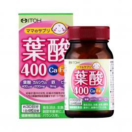 Viên uống cho mẹ bầu bổ sung Acid Folic Ca-Fe Itoh Plus 400mcg 120 viên