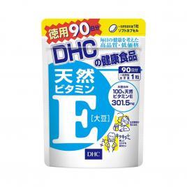 Viên uống bổ sung Vitamin E DHC Nhật Bản 90 viên (Chính hãng)